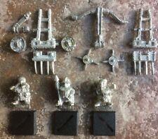 Vintage GW Citadel Dwarf Bolt Thrower War Machine Siege Ballista & Crew OOP RARE