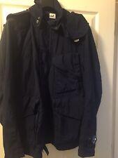 CP Company Quartz Goggle Jacket Blue Medium