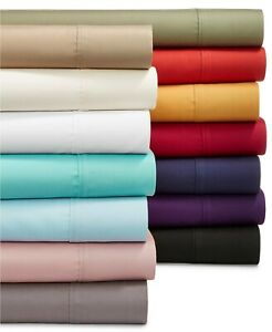 Soft Bedding Duvet Collection 1000TC Egyptian Cotton US Full Size Solid Colors