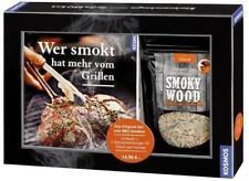 Wer smokt, hat mehr vom Grillen. Das Original-Set zum BBQ-Smoken: Grillbuch + 2
