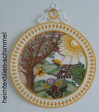 Plauener punta ® finestra Immagine Estate Fensterdeko paesaggio estate uccelli