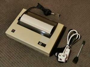 GENUINE SERIAL 8056 COMPACT PRINTER WITH SINCLAIR QL/ZX SPECTRUM SERIAL LEAD