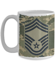 US Air Force Chief Master Sergeant|CMSgt|E9 Mug - Gift for Vet|Promotion|Airman