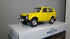 Modelcar Group Lada Niva gelb 1:18