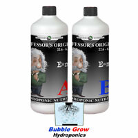 PROFESSOR'S ORIGINAL NUTRIENT 1L A&B SET GROW AND BLOOM HYDROPONIC NUTRIENTS