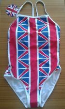 GB Great Britain Swimsuit Size Small by Only Swim Red White & Blue New NWT