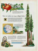 1959 ORIGINAL VINTAGE ETHYL GASOLINE MAGAZINE AD