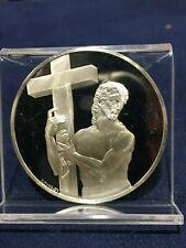 Risen Christ Sterling Silver Medal 37+ Grams