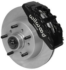 "WILWOOD DISC BRAKE KIT,FRONT,68-72 FORD F-100 TRUCK,11.75"" ROTORS,BLACK CALIPERS"