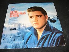 ELVIS PRESLEY Christmas Album LP Clean Original Long Ply Labels Holiday Favorite