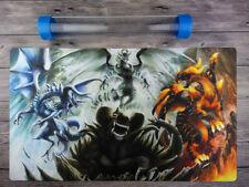 YGO Dragon Ruler Custom Playmat Trading Card Game mat Free High Quality Tube