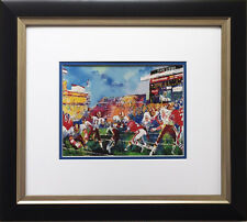 "LeRoy Neiman ""Super Bowl 1988 In the Pocket"" New FRAMED Washington Redskins XXII"