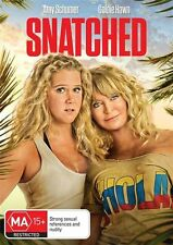 Snatched (DVD, 2017) A Schumer G Hawn J Cusack I Barinholtz W Sykes LIKE NEW