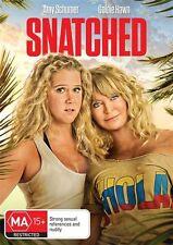 Snatched DVD NEW Region 4 Goldie Hawn Amy Schumer