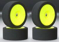 BSR Racing C8030 30 Dirt Oval Foam Mounted Tires / Wheels (4) 1/8 Buggy