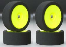 BSR Racing C8030 30 Dirt Oval Foam Mounted Tires / Wheels (4) 1/8 Buggy