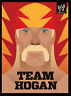 Hulk Hogan Art Print Team Hogan Wrestling Poster 8x10 UK A4 Hollywood WCW