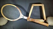Vintage Wilson Chris Evert autograph speed flex tennis racket 4 3/8 light
