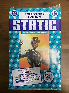 STATIC #1 (Collector's Edition, 1st Shock app) Sealed Poly-Bag DC Milestone 1993