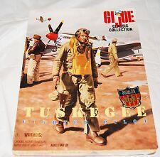 "GI Joe Tuskegee Fighter Pilot Classic Collection 12"" 1/6 Vintage Figure NIB"