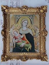 Gemälde Jungfrau Maria Und Jesus bild mit Rahmen 56x46 cm Religiöse Bilder 18