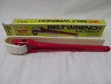 """HIT Wrench Pipe Strap Belt 12"""" Made In Japan 02-BW3-3 EBMEZ01"""