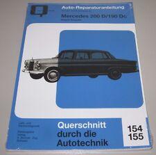 Reparaturanleitung Mercedes 200 D / 190 Dc Typ W 110 Heckflosse 1961 - 1968 NEU!