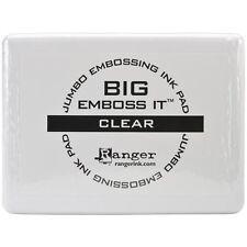Ranger Big Emboss it (Jumbo), Clear Ink Embossing Pad, #3 Size, 6 5/8″ x 4 7/8″