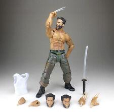 "Marvel Diamond Select Wolverine Movie Logan 7"" Action Figure Loose"