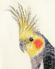 COCKATIEL, pet, bird ~ Full counted cross stitch kit + materials