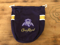 Crown Royal - Special Edition Football Game Day Jersey Bag Vikings PURPLE YELLOW