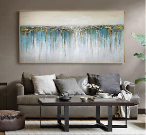 YA1205 Modern Hand-painted abstract oil painting Sofa backdrop decor