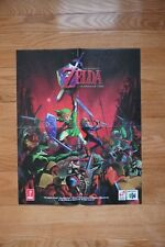 The legend of Zelda Ocarina of Time Poster Rare Collectors Item