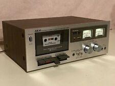 Vintage Akai Cs-703D stereo cassette deck (Made in Japan)
