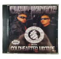Cliff Hangaz - Coldhearted Mixtape Vol. 1 - New Dallas Texas Chicano Rap CD