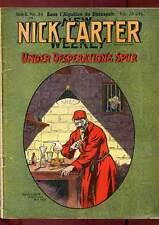 FASCICULE NICK CARTER SERIE II N°34. ED A. EICHLER. DEBUT DE SIECLE.