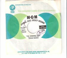 CONNIE FRANCIS - The wedding cake                          ***Promo***
