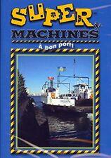BRAND NEW DVD / Super Machines  // CHILDREN // A Bon Port  // FRENCH LANGUAGE