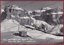 TRENTO COL RODELLA 08 RIFUGIO DES ALPES - MONTAGNA Cartolina FOTOGR. viagg 1964