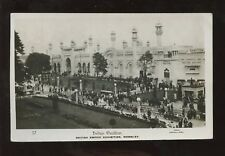 INDIA 1924 WEMBLEY RP PPC..KIRKEE..OVERLAND POSTAGE DUE
