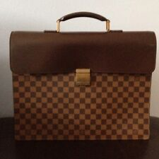LV Louis Vuitton Damier Double Document Briefcase- Fantastic Condition-vintage