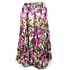 Jessica London  Festival Skirt SIZE 18 Boho Floral Gored Gypsy Costume