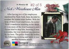"Bates Motel Season 2 ~ PARALLEL INSERT CARD RP6 ""Rest in Peace"" #2 of 5 #2/5"