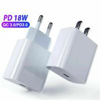 18W PD 3.0 Quick Charge QC3.0 Rapide Prise USB-C 12V Adaptateur Chargeur Secteur