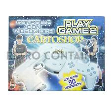 Vintage Game Console Station - Cartoshop Play Game 2 - Nuovo Sigillato