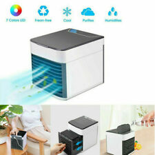 Mini Portable Air Cooling Conditioner Cool Air Cooler Water Tank Fan Humidifier