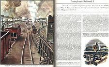 Charles Burchfield Pennsylvania Railroad PITTSBURGH Altoona 1936 Print Article