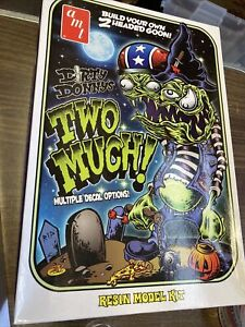 """Dirty Donny's Two Much! Resin Model Kit 9"""" AMT # 781/12 New In Open Box"""