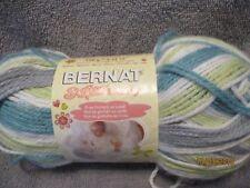 Bernat Softee Baby PRINCE PEBBLES 4.25 oz 100% Acrylic DK #3 Soft & Delicate