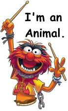 Muppets Animal # 14 - 8 x 10 T Shirt Iron on Transfer -